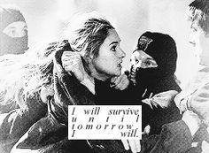 I will survive until tomorrow. I will....