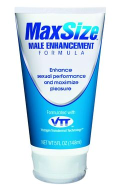 MaxSize Male Enhancement Cream