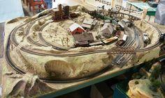 Train Table Designs | Ho Model Train Table Plans | WalPage.com