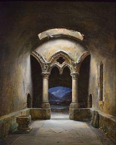 Beautiful crypt.