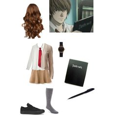 """""""Light Yagami (Death Note) Inspired"""" by xcherry on Polyvore"""