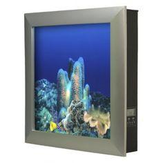 AQUAVISTA    Aquavista 500 Wall Mounted Aquarium - Wall Mounted Aquariums - Products #AquariumHeaterProduct