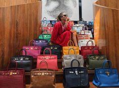 8 Ways to Fall in Love with Your Bags Again - PurseBop Sac Birkin Hermes, Hermes Bags, Hermes Scarves, Big Handbags, Hermes Handbags, Replica Handbags, Bag Closet, Work Bags, Bvlgari Bags