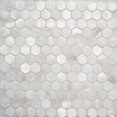 FIFYH shell tile white kitchen backplash tile mother of pearl tile for bath wall modern kitchen tile Fireplace Tile Surround, Backsplash, Pearl Tile, Modern Kitchen Tiles, Black Fireplace, Kitchen Backplash, Fireplace, Cozy Fireplace, Shell Tiles