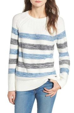 Barbour Dock Stripe Cotton Sweater