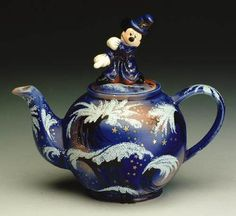 Not usually into Disney things, but this teapot seems to carry off this theme well.