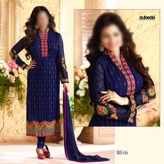 BS 16 Embroidered Chiffon 3 Piece Suit        Free Delivery Nationwide       Book your order NOW ---> https://www.aam.com.pk/shop/bs-16-embroidered-chiffon-3-piece-suit/