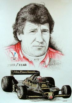 Mario Andretti Tribute by machoart Indy Car Racing, Indy Cars, Sprint Cars, Race Cars, Formula 1, Mario Andretti, American Racing, Mobile Art, Car Drawings