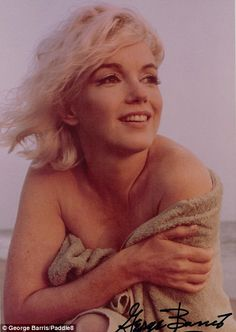 Photos of Marilyn Monroe's final shoot go up for auction   Daily Mail Online