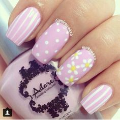 48 Spring Floral Nail Art Ideas