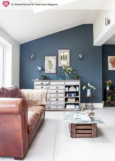 Escape to the Country - home of Sarah Wilkie founder of Homebarn. Photographed by Michael Norman