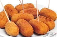 Receita de Bolinho de batata com queijo em receitas de salgados, veja essa e outras receitas aqui!