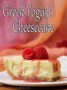 Cheesecake Recipes : DIY Greek Yogurt Cheesecake Cheesecake Recipes
