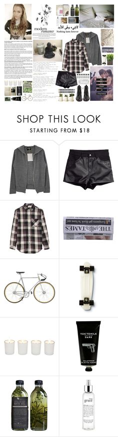 """""""Stay close to anything that makes you glad that you're alive."""" by sarahstardom ❤ liked on Polyvore featuring Monrow, H&M, Current/Elliott, Quiksilver, Witchery, TokyoMilk, xO Design, philosophy, Band of Outsiders and rag & bone"""