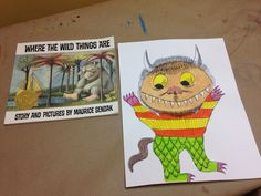 Where the Wild Things Are paintings