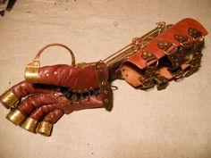 Steampunk glove by ChanceZero.deviantart.com on @deviantART