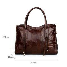 5012b3b7efef Cobbler Legend Genuine Leather Bag For Men Or Women Vintage Handbag Real  Cowhide Crossbody Bags Unisex Travel Laptop Bag Totes