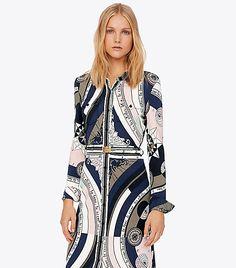 ad5009d6254af Tory Burch Crista Shirtdress   Women s Best Sellers