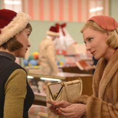 #MondayMuse: #RooneyMara and #CateBlanchett, stars of the film #Carol. #ToddHaynes (one of my FAV directors) directed this beautiful film. These actresses are poetry in motion. #LoveIsLove @carol_film