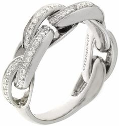 Image detail for -Chimento White Gold Infinity Ring
