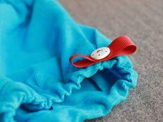 Popeline&co - blue corduroy bloomer for children
