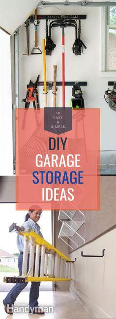 Diy Garage Storage, Storage Hacks, Garage Organization, Storage Ideas, Shoe Rack, Diy Home Decor, Easy Diy, Pretty, Unique