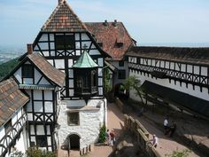 Wartburg - where Martin Luther translated the Bible - Eisenach, Germany