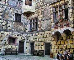 Castillo de Cesky Krumlov en República Checa