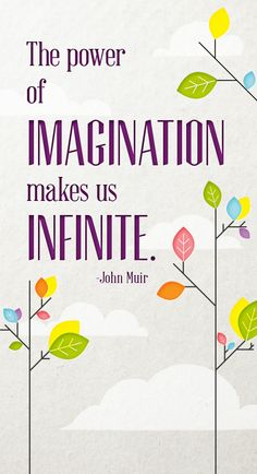 The power of imagination makes us INFINITE. | University of Phoenix #inspiration #quote