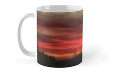 """Bloody sunset"" mug photo design product in #redbubble"