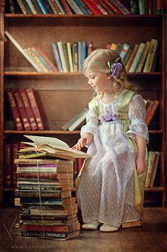 La petite fille qui aimait beaucoup lire