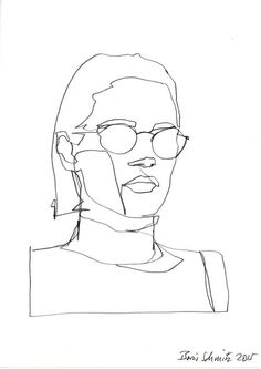 Image result for line drawing portraits