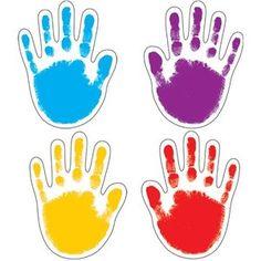 Carson Dellosa Handprints 42 Cut-Outs (120081)