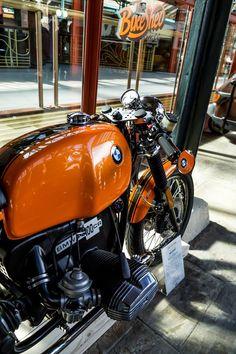 BMW orange