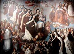 Apoteosis de la Orden del Carmen, José Joaquín Magón, Museo del Exconvento del Carmen de Sn. Ángel, Cdad. de México, D.F. | Flickr - Photo Sharing!