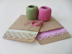 Envelopes craft.