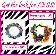 Why pay a arm and a leg for jewelry when you get Paparazzi for $5 sabrina@fashionableandfun.com