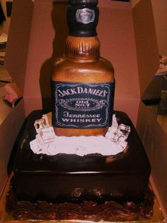 jack daniels cake jack daniels bottle this is adding jack daniels