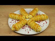 Εύκολα αλμυρά πουράκια με κιμά - YouTube Food N, Food And Drink, Greek Recipes, Appetizers, Plates, Cooking, Ethnic Recipes, Party, Greek Beauty