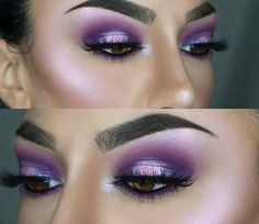 Purple Perfection Eye Makeup