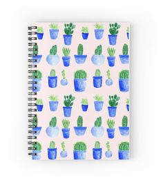 A personal favorite from my Etsy shop https://www.etsy.com/listing/484272835/pink-cactus-notebook-spiral-notebook