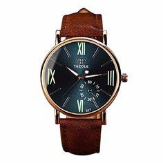 Ularma Herren Uhr Luxus Mode Kunstleder Quarzuhren Analog Armbanduhr mit Nachtleuchtende 327 Navy - http://uhr.haus/ularma/ularma-herren-uhr-luxus-mode-kunstleder-analog-3