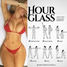 "The ""Hour Glass"" routine! Will you try it? Follow us @FirstClassGym for more workouts! - All credits to the respective owners"