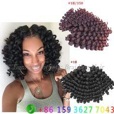 10inch jumpy Wand Curl Jamaican Bounce Twist Crochet Braids Crochet Hair Extensions havana mambo twist braiding hair