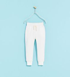 BASIC PLUSH TROUSERS - Available in more colours