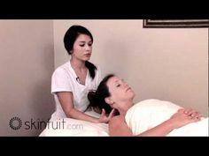 head massage, I have a tension head ache