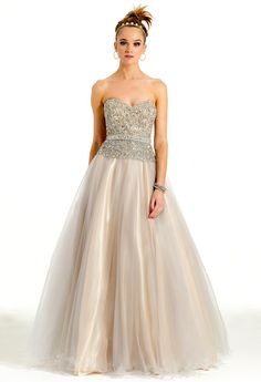 Tulle Ballgown   #ca