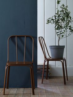 Copper Cafe Chairs   Mad About The House