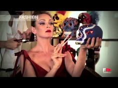 "UMA THURMAN for ""CAMPARI CALENDAR 2014"" Backstage Photoshoot by Fashion Channel"