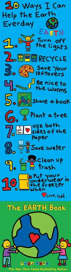 TEACH YOUR CHILD TO READ - Every one of us can help protect the earth and make it feel good. Remember: if we take care of it, it will take care of us. Love, Todd Super Effective Program Teaches Children Of All Ages To Read. Earth Day Projects, Earth Day Crafts, Nature Crafts, Earth Craft, Art Projects, Earth Day Activities, Preschool Activities, Earth Hour, Planet Earth